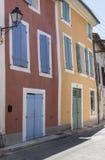Edificios franceses de la arquitectura Fotos de archivo libres de regalías