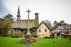 Edificios Godstone Surrey del pueblo Fotos de archivo libres de regalías