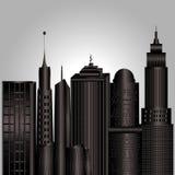Edificios grises   Fotos de archivo