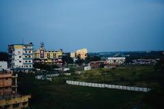 Edificios hermosos en la foto editorial única de Bangalore la India fotos de archivo libres de regalías