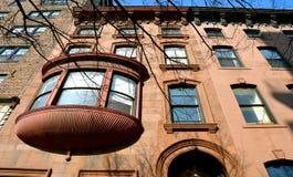 Edificios históricos, Brooklyn, NYC Fotos de archivo