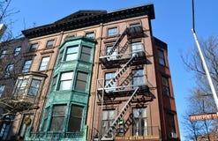 Edificios históricos, Brooklyn, NYC Fotografía de archivo