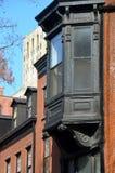 Edificios históricos, Brooklyn, NYC Foto de archivo