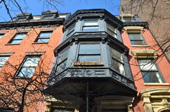 Edificios históricos, Brooklyn, NYC Fotos de archivo libres de regalías