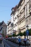 Edificios históricos Budapest Hungría Imagen de archivo libre de regalías