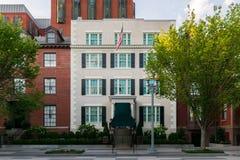 Edificios históricos céntricos en distrito de Columbia Foto de archivo libre de regalías
