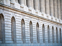 Edificios históricos clásicos en Washington DC Fotografía de archivo libre de regalías