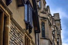Edificios históricos de la universidad Fotos de archivo