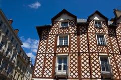 Edificios históricos de Rennes foto de archivo libre de regalías