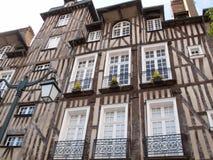 Edificios históricos de Rennes Imagen de archivo libre de regalías