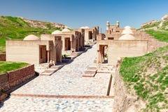 Edificios históricos de Tayikistán foto de archivo