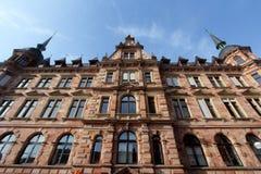 Edificios históricos de Wiesbaden, Alemania imágenes de archivo libres de regalías