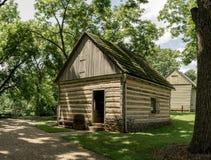 Edificios históricos del claustro de Ephrata en el condado de Lancaster, Pennsylvania Fotos de archivo libres de regalías