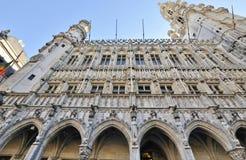 Edificios históricos en Bruselas Foto de archivo