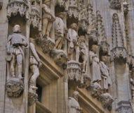 Edificios históricos en Bruselas Fotografía de archivo libre de regalías