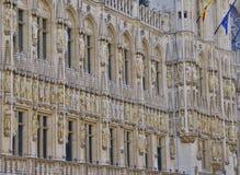 Edificios históricos en Bruselas - 3 Imagenes de archivo