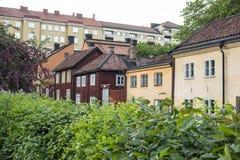 Edificios históricos en Estocolmo Fotos de archivo