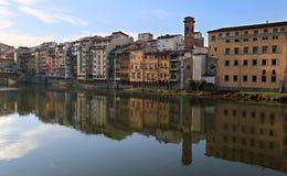 Edificios históricos en Florencia, Italia Imagen de archivo libre de regalías