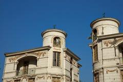 Edificios históricos en Santiago, Chile Imagen de archivo