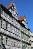 Edificios históricos viejos de la ciudad vieja de Hannover Altstadt Fotografía de archivo libre de regalías