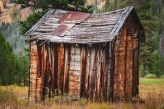 Edificios históricos viejos del oeste foto de archivo