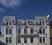 Edificios históricos de Punta Arenas Foto de archivo libre de regalías