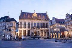 Edificios históricos en Bremen Imagen de archivo