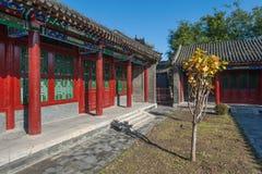Edificios imperiales del palacio de Shenyang Imagen de archivo libre de regalías