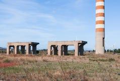 Edificios industriales imagenes de archivo