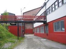 Edificios industriales Foto de archivo libre de regalías