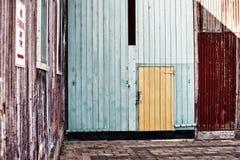 Edificios industriales abandonados Foto de archivo