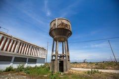 Edificios industriales abandonados de Portugal LandscapeÑŽ Imagenes de archivo