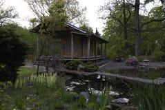 Edificios japoneses tradicionales Foto de archivo libre de regalías