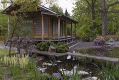 Edificios japoneses tradicionales Foto de archivo