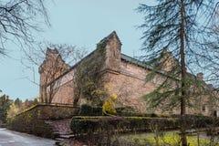 Edificios majestuosos del castillo del decano en el Sc del este de Kilmarnock de Ayrshire fotos de archivo libres de regalías