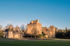 Edificios majestuosos del castillo del decano en luz del sol de la última hora de la tarde adentro fotos de archivo libres de regalías