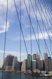 Edificios, Manhattan Foto de archivo libre de regalías