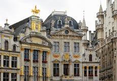 Edificios medievales del lugar magnífico Imagen de archivo