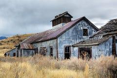 Edificios mineros abandonados Imagen de archivo libre de regalías