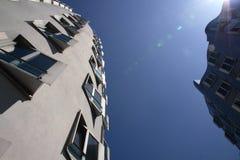 Edificios modernos Fotos de archivo libres de regalías