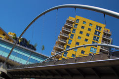 Edificios modernos Foto de archivo libre de regalías