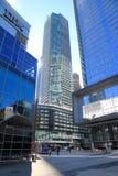 Edificios modernos céntricos de Toronto Imagenes de archivo