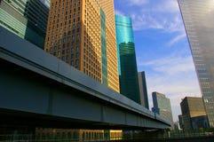 Edificios modernos de Architecure Fotografía de archivo