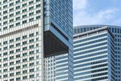 Edificios modernos de la arquitectura Imágenes de archivo libres de regalías
