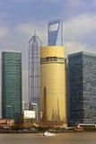 Edificios modernos de Shangai Foto de archivo libre de regalías