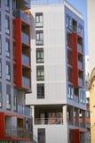 Edificios modernos del appartement Foto de archivo libre de regalías