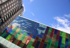 Edificios modernos del asunto   Fotos de archivo libres de regalías