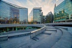Edificios modernos en el banco del sur - Londres, Reino Unido Fotos de archivo