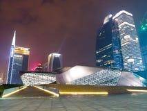 Edificios modernos en Guangzhou foto de archivo