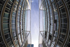 Edificios modernos en Munich, Alemania Concepto del asunto Fotos de archivo
